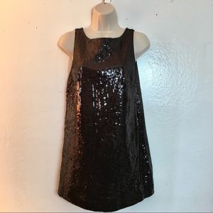 Free people black sequin dress, 6